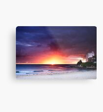 Cronulla Beach Sunrise1 Metal Print