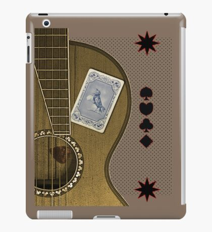 luck of the draw  iPad Case/Skin
