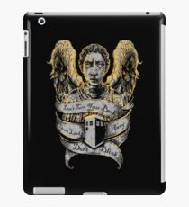 Don't Blink (Alternate) iPad Case/Skin