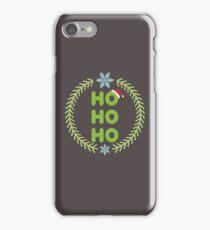 Santa - HO-HO-HO iPhone Case/Skin
