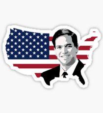 Pegatina Marco Rubio para presidente 2016