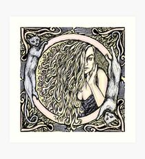Donna Bella Art Print