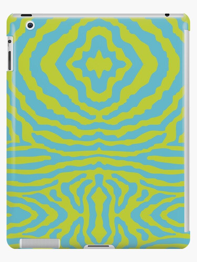 funky zebra pattern 3 by Kat Massard