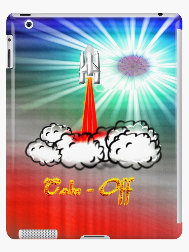 Take-Off iPad case by Dennis Melling