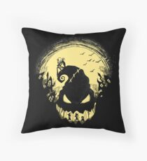 Jack's Nightmare Throw Pillow