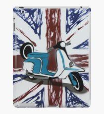 British Scooter 01 Painting iPad Case/Skin