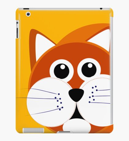 Cat Puss iPad Case/Skin