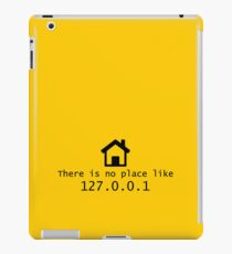 No place like iPad Case/Skin