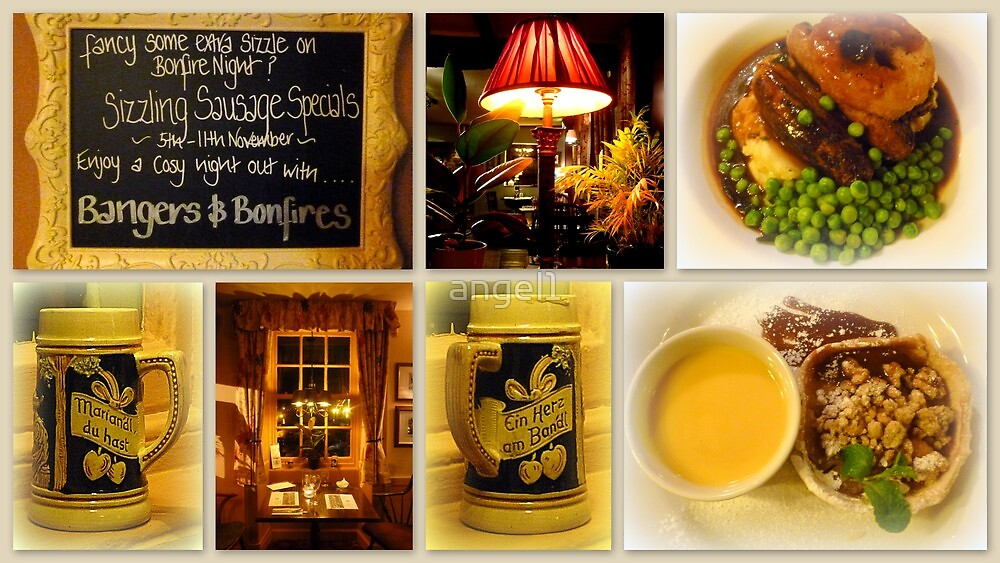 Bangers and Bonfires at the Hawes Inn by ©The Creative  Minds