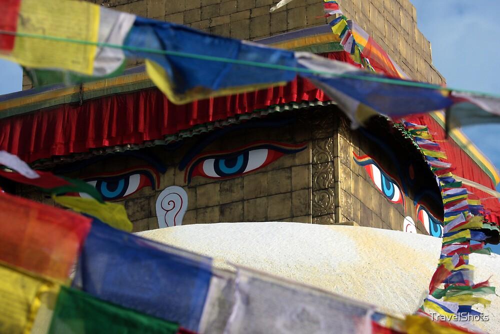 All Seeing Eyes, Kathmandu, Nepal by TravelShots