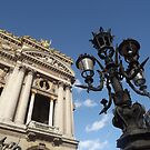 Paris lantern outside the Opera by graceloves