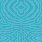 funky zebra pattern 6 by Kat Massard