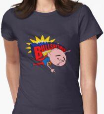 Bullshit Man - Karl Pilkington T Shirt Women's Fitted T-Shirt