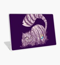 Inside wonderland (cheshire cat) Laptop Skin