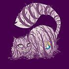 Inside wonderland (cheshire cat) by Harantula
