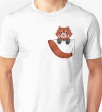 Pocket Red panda  T-Shirt