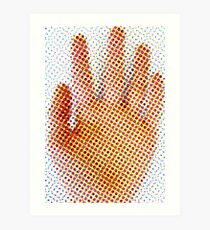 Spotty Hand Art Print