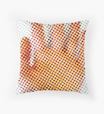 Spotty Hand Throw Pillow