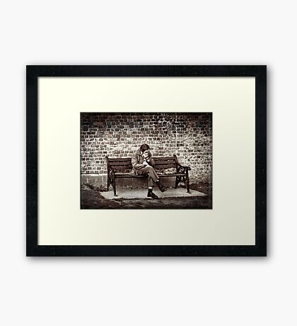 Lost Along the Way Framed Print