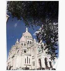 Sacre Coeur, Montmatre, Paris Poster