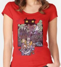 The Cabin in the Woods Women's Fitted Scoop T-Shirt