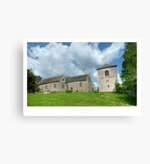 Richard's Castle, Herefordshire Canvas Print