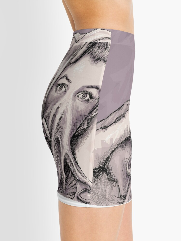 Alternate view of Phone Call of Cthulyn Mini Skirt