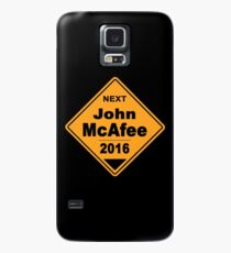 John McAfee for president 2016 - Road Sign Case/Skin for Samsung Galaxy