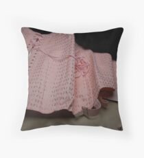 Une gaine or a vintage corset ?  Throw Pillow