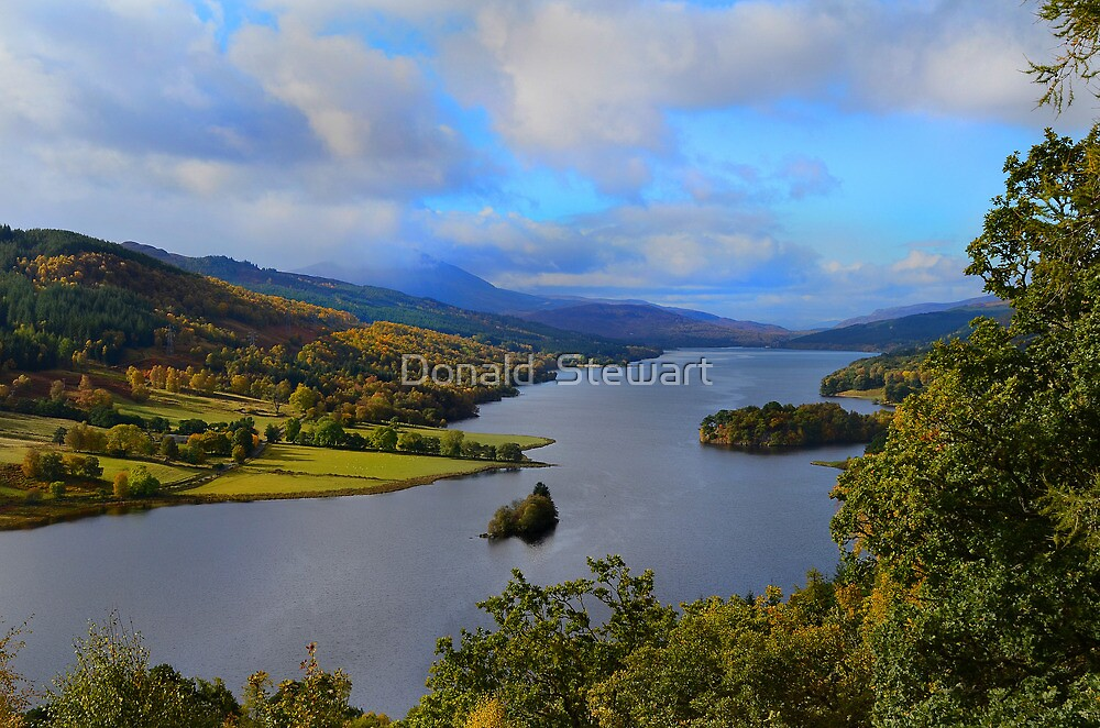 Queen's View by Donald  Stewart