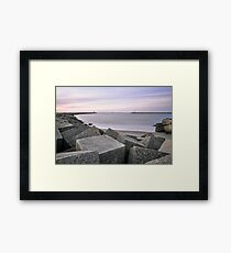 Two Towers Framed Print