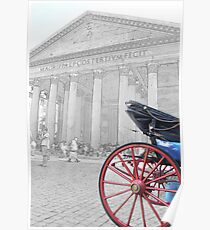The Pantheon at Rome Poster