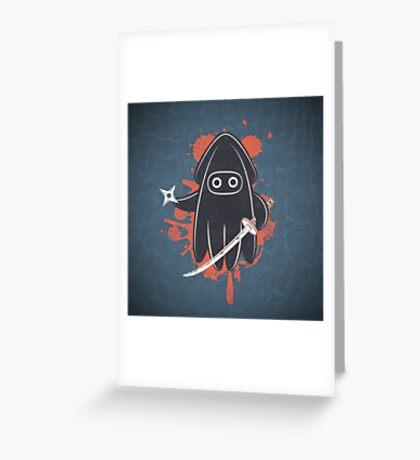 Ninja Ink Greeting Card