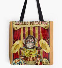 Death's Minstrel: Jolly Chimp Sideshow Banner Tote Bag