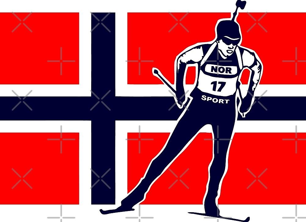 Norway Biathlon  by Port-Stevens
