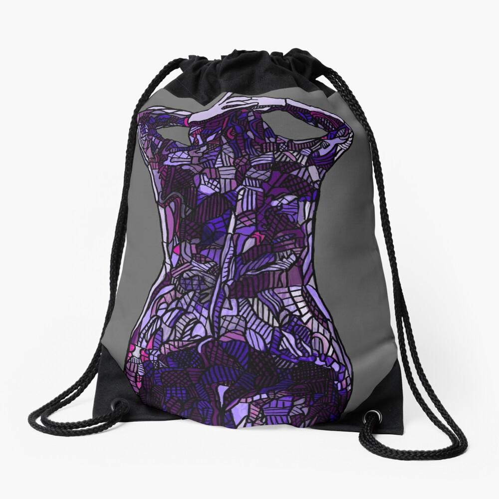 Purple Latex, 2014 Drawstring Bag