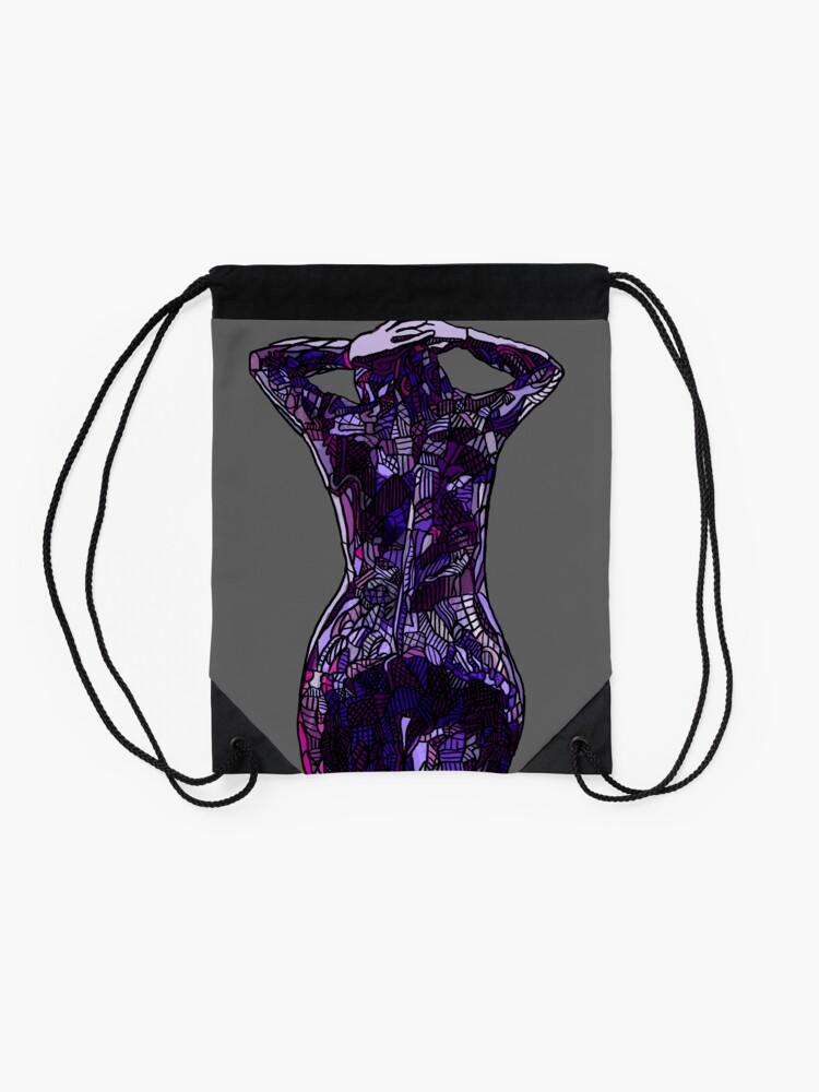 Alternate view of Purple Latex, 2014 Drawstring Bag