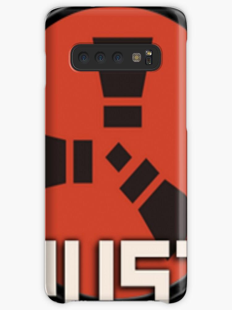 'Rust logo' Case/Skin for Samsung Galaxy by cemolamli