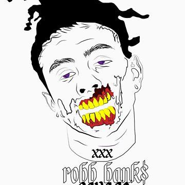 Robb Bank$ by mxrgvn