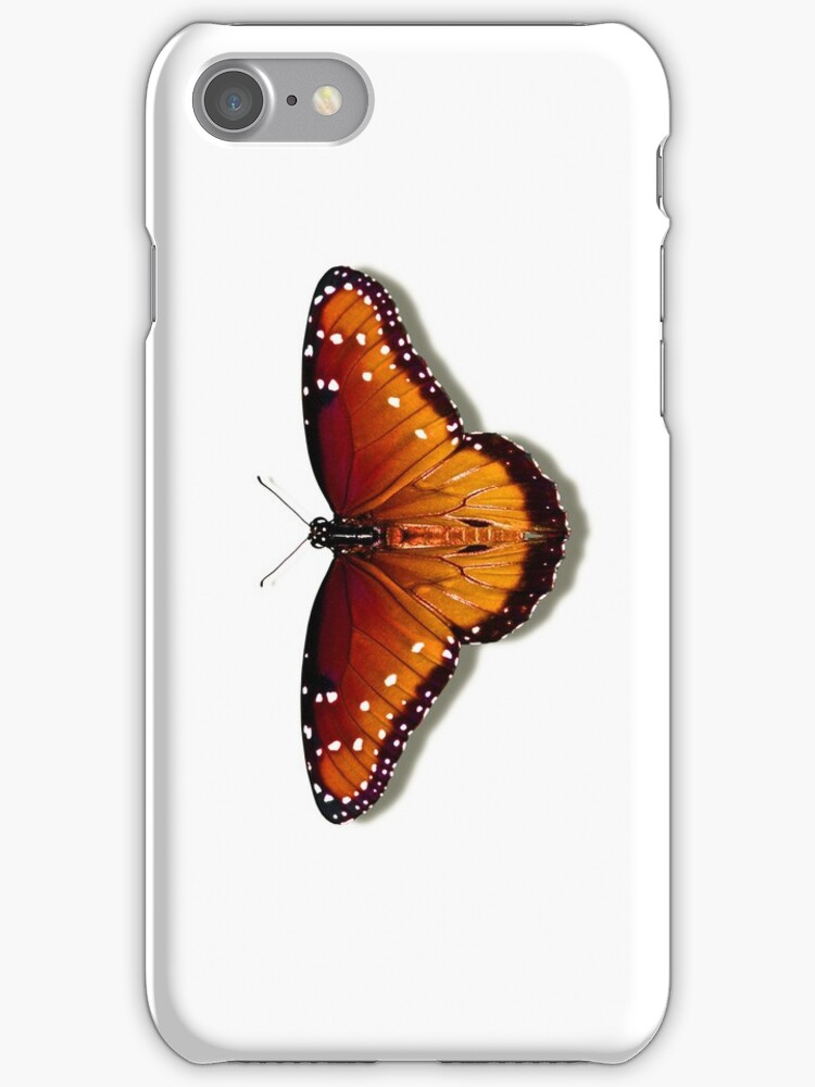 Smartphone Case - Butterfly - Queen by Mark Podger