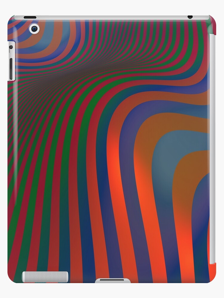 The Wave (iPad case) by Lyle Hatch