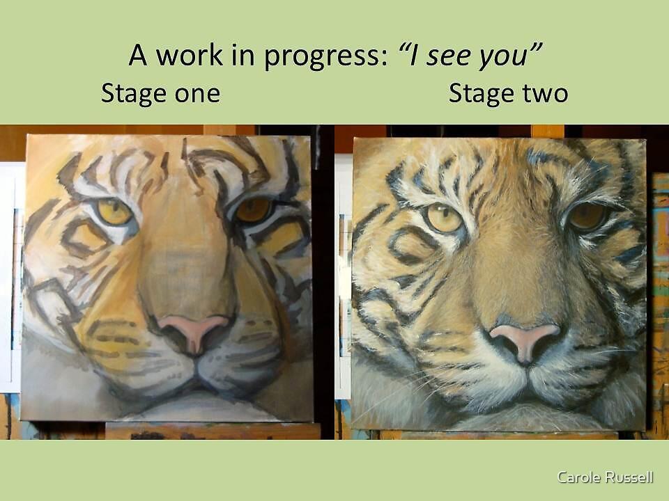 A work in progress by Carole Russell