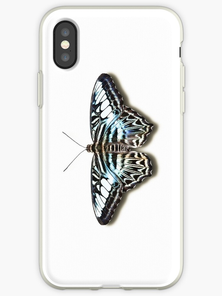 Smartphone Case - Butterfly - Blue Clipper by mpodger
