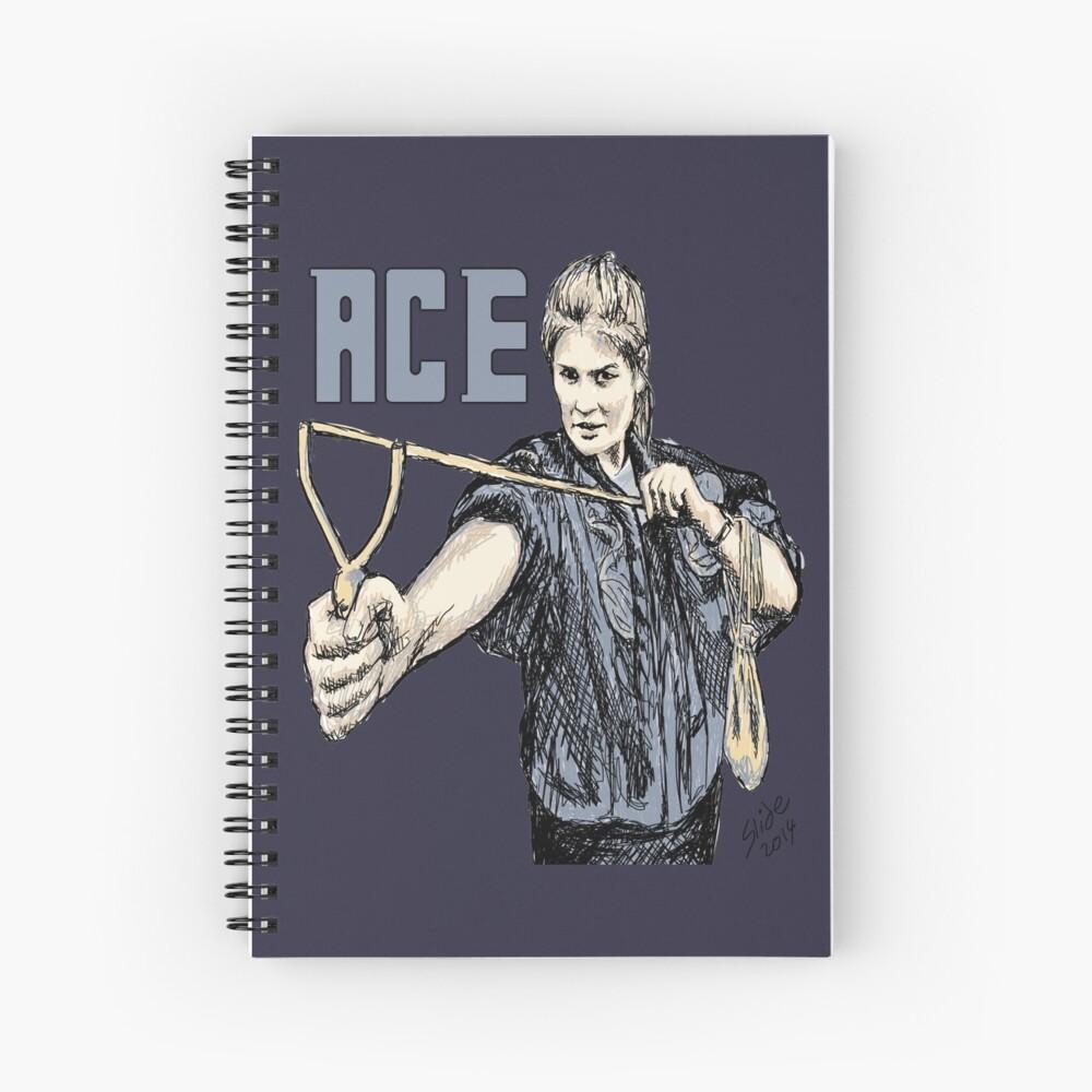 """""""Ace, 2014""""  Spiral Notebook"""