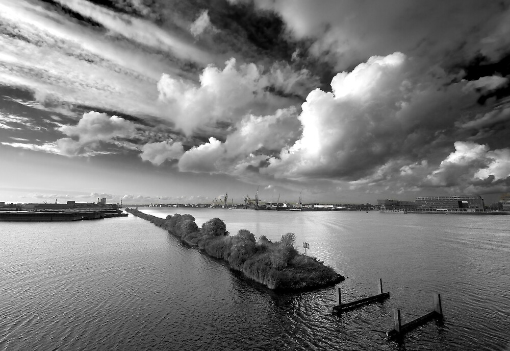 Clouds over Houthaven by Matteo Manferdini