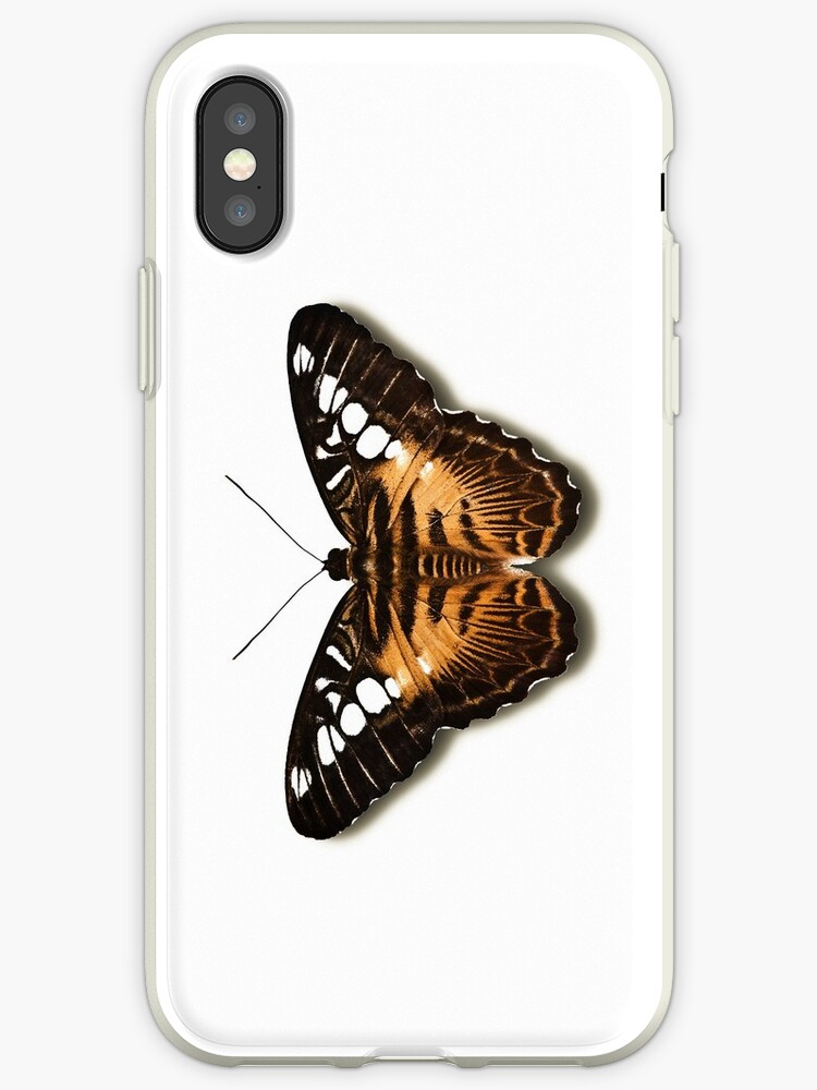 Smartphone Case - Butterfly - Brown Clipper by mpodger