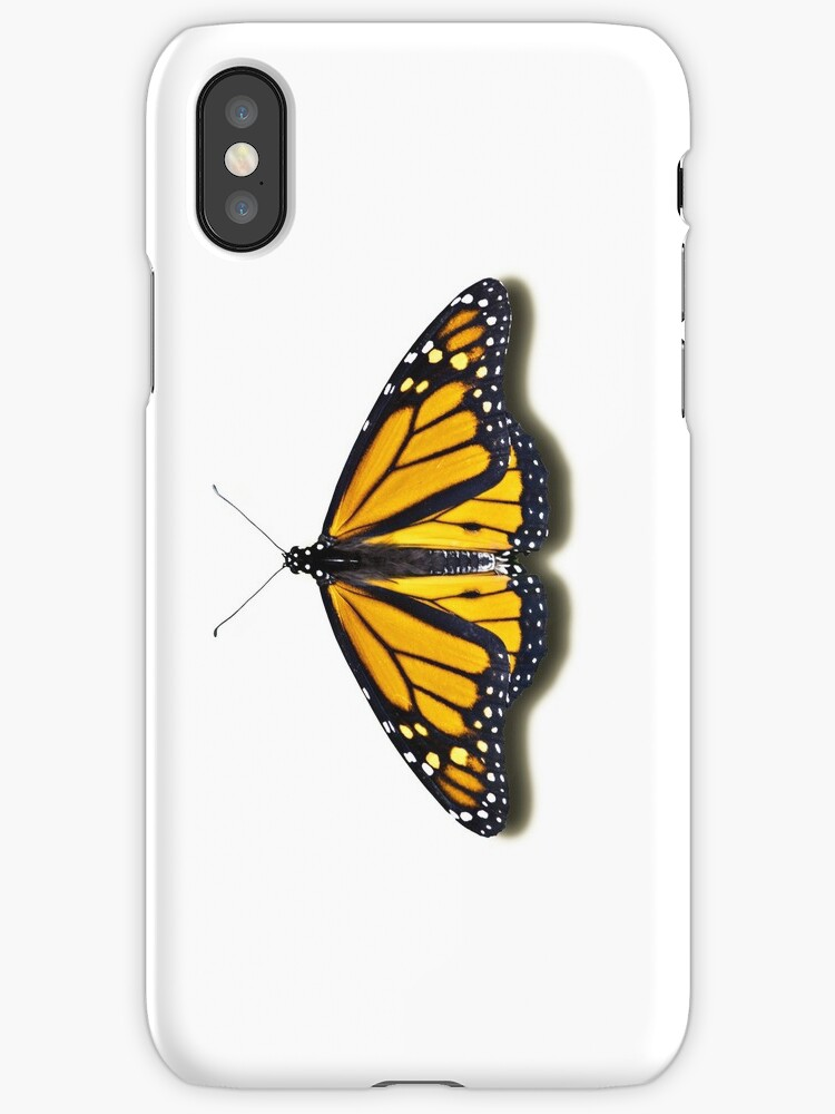 Smartphone Case - Butterfly - Monarch by mpodger