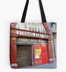 Strand Station, London Tote Bag