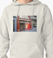 Strand Station, London Pullover Hoodie