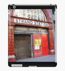 Strand Station, London iPad Case/Skin